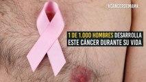 El cáncer de mama también es cosa de hombres