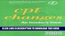 [PDF] Cpt Changes 2005: An Insiders View (Cpt Changes:  An Insiders View) Full Online