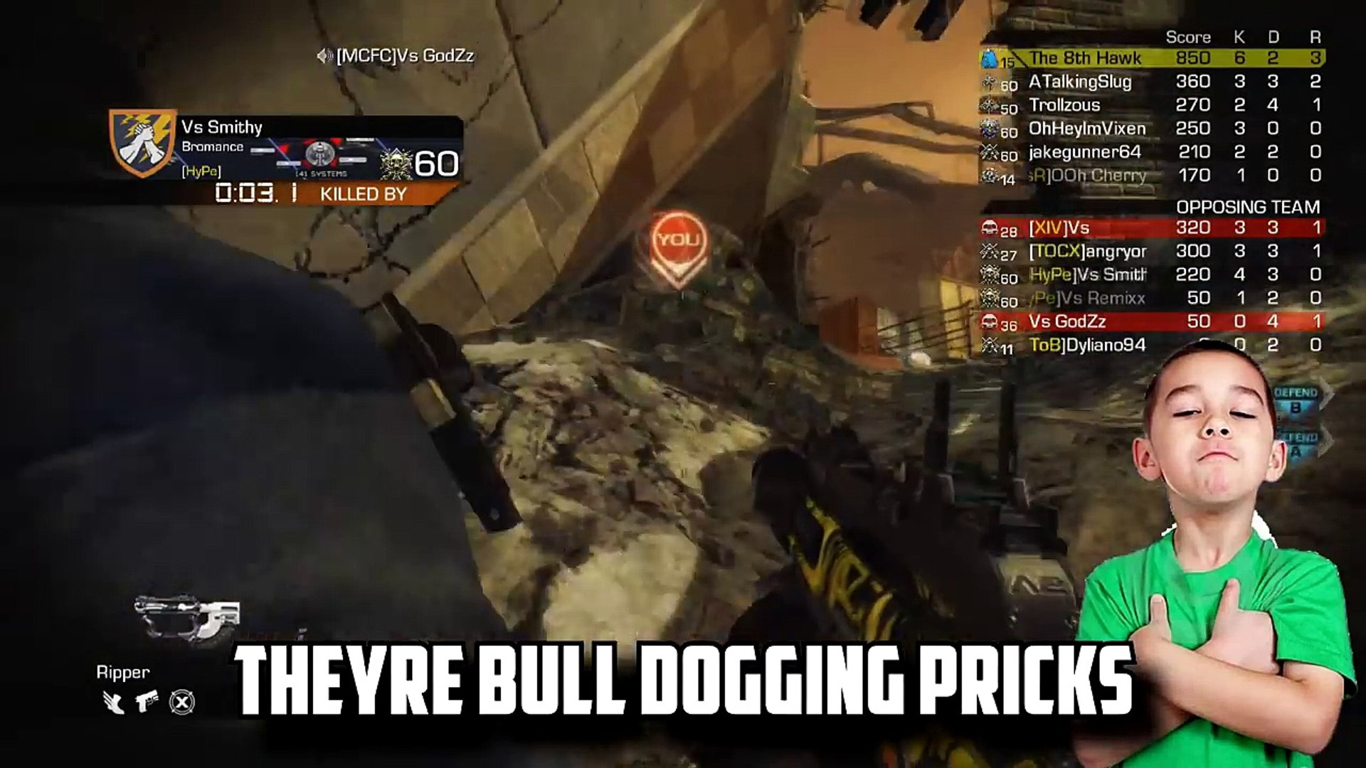 Call of Duty Ghosts: Riot Shield Rage (Call of Duty Ghosts Trolling)