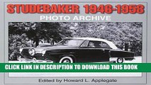 [DOWNLOAD] PDF Studebaker 1946-1958 Photo Archive (Photo Archives) New BEST SELLER