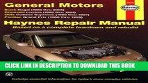 [DOWNLOAD] PDF Haynes Repair Manual General Motors: Buick Regal (88-05) Chevrolet Lumina(90-94)