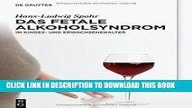 [PDF] Das Fetale Alkoholsyndrom: Im Kindes- Und Erwachsenenalter (German Edition) Popular Online