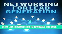 DOWNLOAD] PDF BOOK Networking for Lead Generation