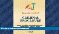 FAVORIT BOOK Casenote Legal Briefs: Criminal Procedure - Keyed to Haddad, Zagel, Starkman   Bauer