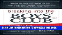 [PDF] Breaking into the Boys  Club: The Complete Guide for Women to Get Ahead in Business Full