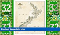 Big Deals  New Zealand Executive [Tubed] (National Geographic Reference Map)  Full Read Most Wanted