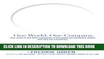 [PDF] One World One Company: How some of the best companies in the world are becoming global and