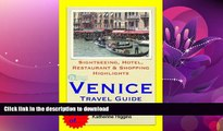 FAVORITE BOOK  Venice, Italy Travel Guide - Sightseeing, Hotel, Restaurant   Shopping Highlights