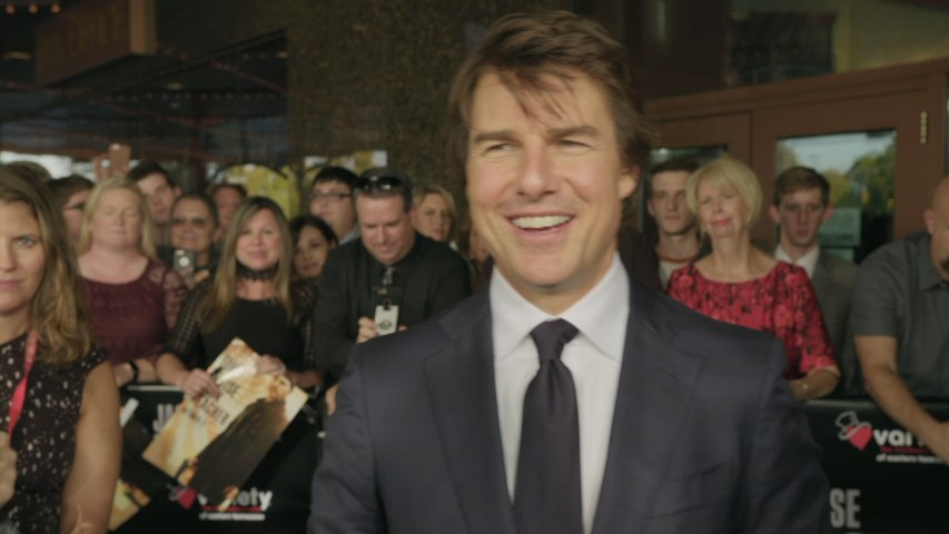 Tom Cruise Shows His Heart At Charity Screening
