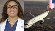 Delta Airlines tidak percaya wanita kulit hitam seorang dokter - Tomonews