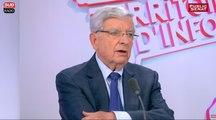 """Chevènement : """" Je comprends les policiers, mais je soutiens d'abord Cazeneuve """""""
