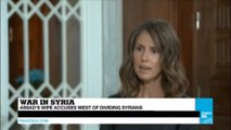 """Syria: Assad's wife Asma gives 1st interview in years, says she """"refused proposals of asylum"""""""