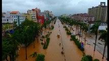 En Chine, un demi-million d'habitants évacués pendant le passage d'un puissant typhon