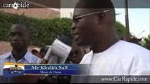 La réaction de Khalifa Sall sur l'affaire de Barthélémy Dias