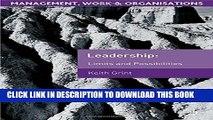 [PDF] Leadership: The Heterarchy Principal Popular Online