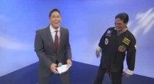 Un présentateur détruit la carrière d'un maître Kung-Fu en direct !