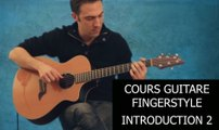 Cours Guitare Fingerstyle Introduction 2-4