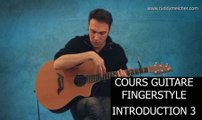 Cours Guitare Fingerstyle Intro 3-4 et percussif + tabs