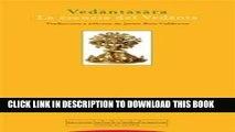 [DOWNLOAD] PDF BOOK Vedantasara: La Esencia Del Vedanta/ the Essence of Vedanta (Spanish Edition)
