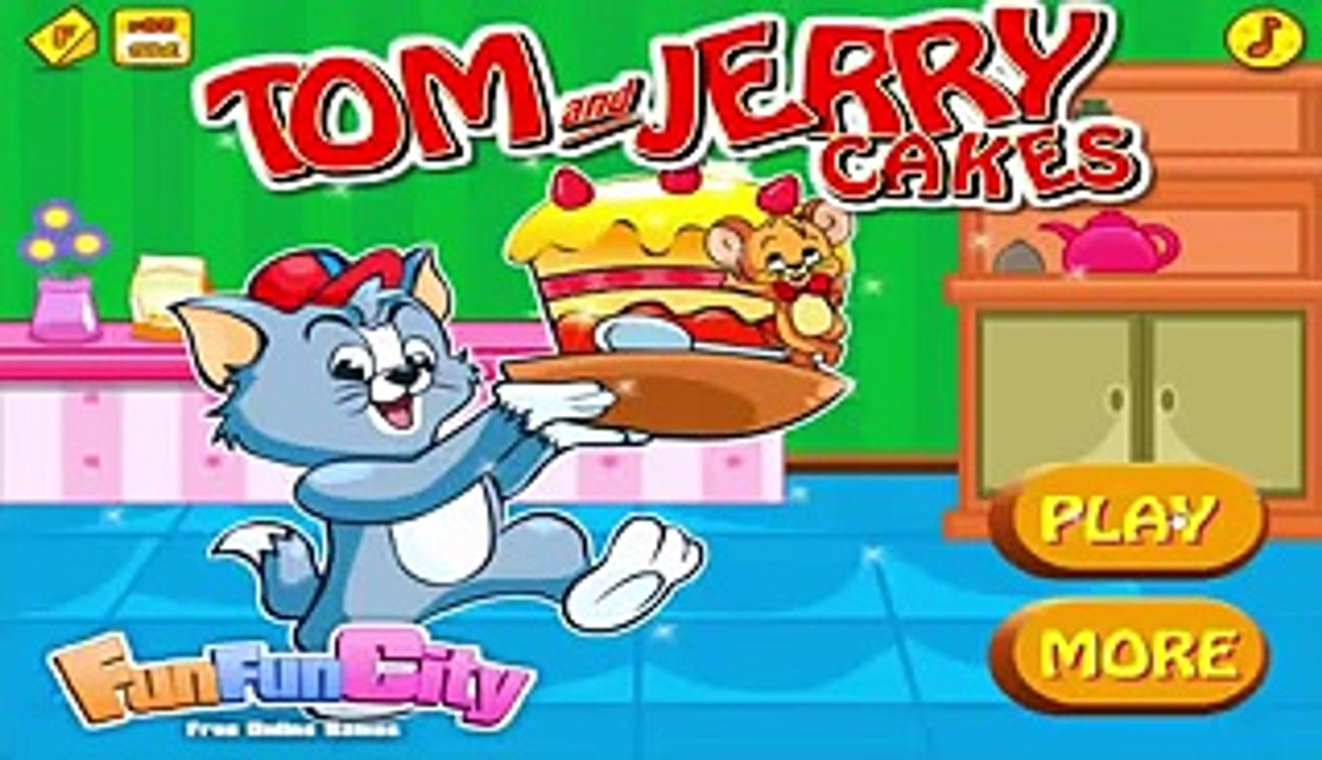 Christmas games | How to play games Tom and Jerry Christmas cupcake | Cook games
