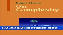 [PDF] On Complexity (Advances in Systems Theory, Complexity, and the Human Sciences) Popular
