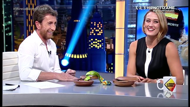 """Pablo Motos a Mireia Belmonte: """"¿Se liga mucho en las Olimpiadas?"""""""
