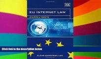 Full [PDF]  EU Internet Law (Elgar European Law Series)  READ Ebook Full Ebook