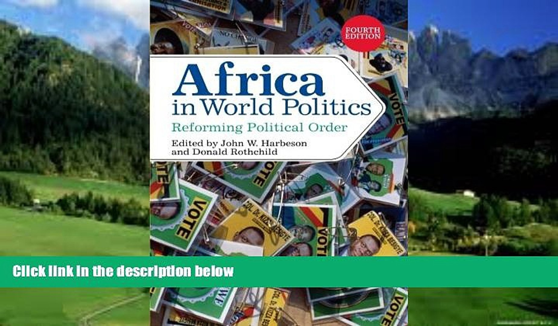 Books to Read  Africa in World Politics: Reforming Political Order  Full Ebooks Most Wanted