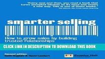 [DOWNLOAD] PDF BOOK Smarter Selling: How to grow sales by building trusted relationships (2nd