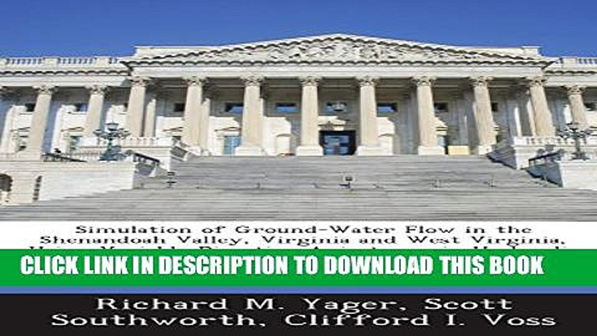 [PDF] Simulation of Ground-Water Flow in the Shenandoah Valley, Virginia and West Virginia, Using