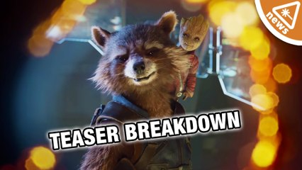 Guardians of the Galaxy Vol 2 Teaser Trailer Breakdown! (Nerdist News w/ Jessica Chobot)