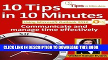 [PDF] 10 Tips in 10 Minutes using Microsoft Outlook 2010 (Tips in Minutes using Windows 7   Office