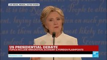 """Hillary Clinton: """"Trump's plan for economy is trickled-down economy on steroids that'll lose America jobs"""""""