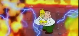 Peter Griffin vs Homer Simpson - The Simpsons Guy - Family Guy and The Simpsons