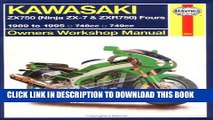 [BOOK] PDF Haynes Kawasaki, ZX750 Ninjas ZX7 and ZXR 750 1989-1995 (Haynes Manuals) Collection