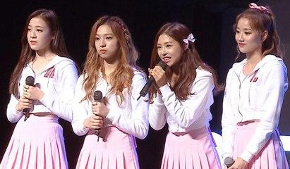 Korea's trending girl idol group! April's music talk show [ENG SUB]