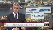 Korea's top 3 shipbuilders expected to post better-than-expected Q3 figures