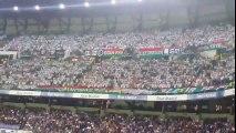 Les Ultras du Legia Varsovie font trembler le Bernabeu