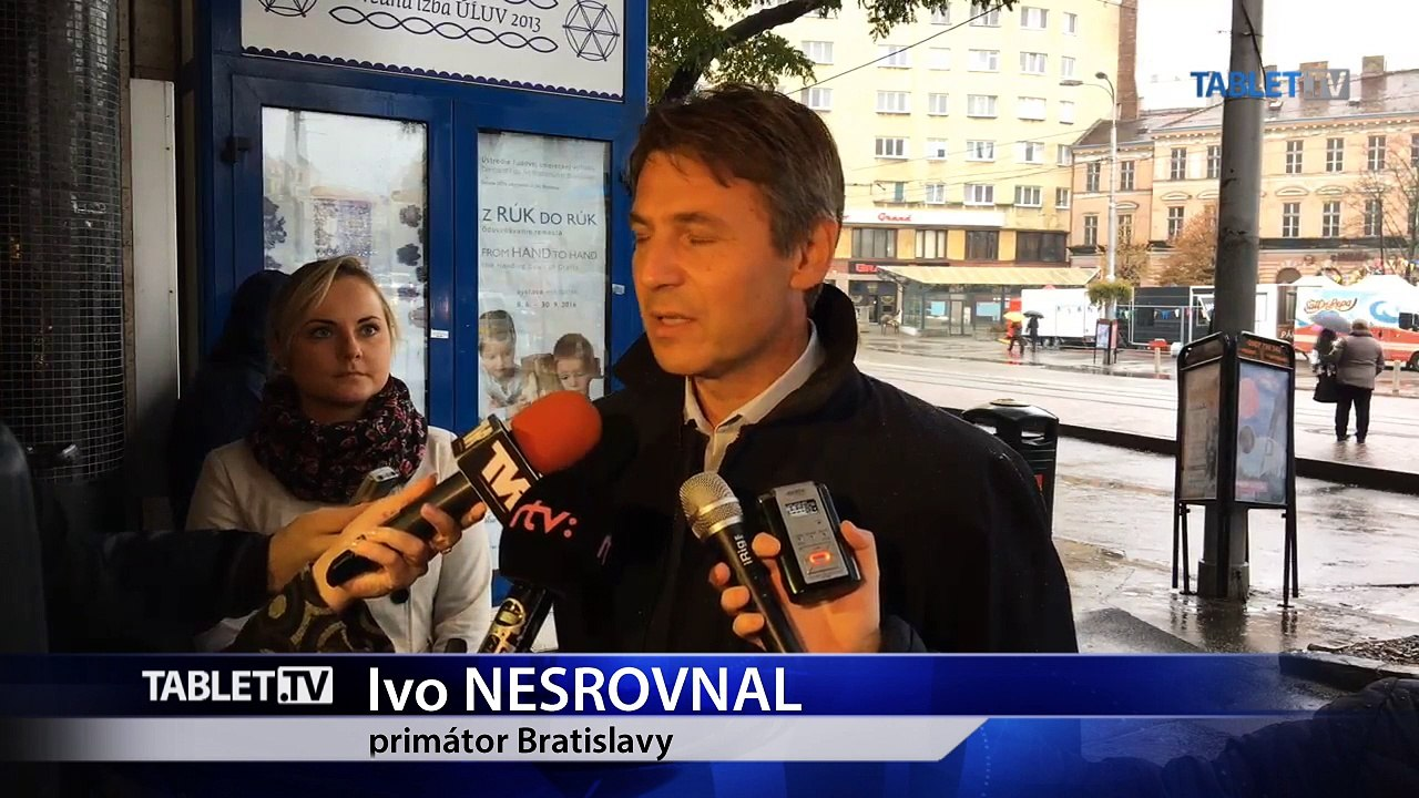 ZÁZNAM: Primátor Bratislavy I. Nesrovnal začal s odstraňovaním nelegálnych reklamných plôch