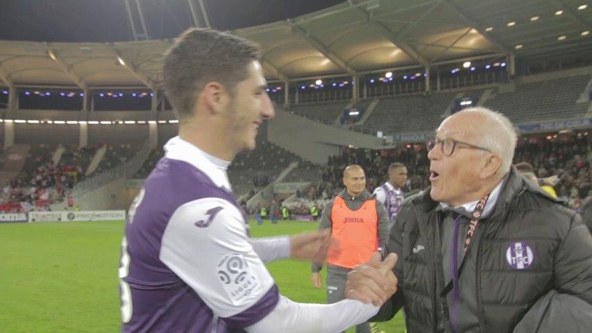 Des images inédites de la joie des Violets après TFC/Monaco
