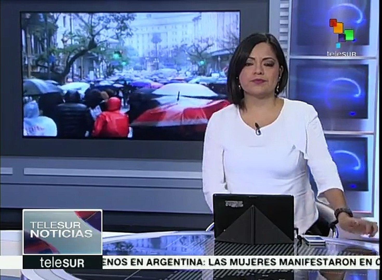 Mujeres de América Latina marchan para visibilizar feminicidios