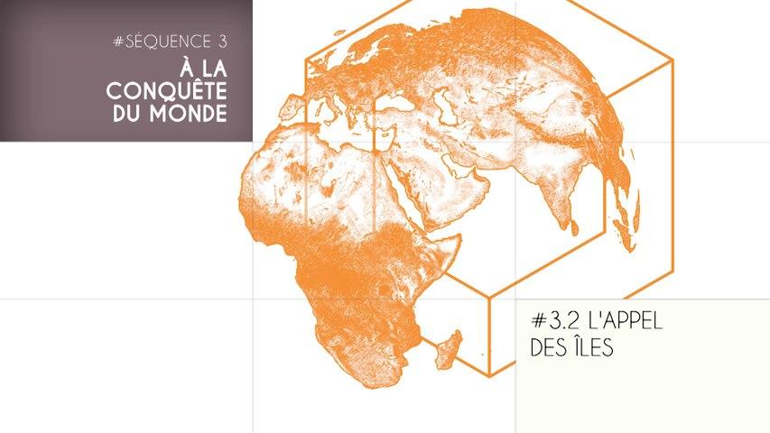MOOC Les origines de l'Homme  - Sujet 3.2 : L'appel des îles 1/2
