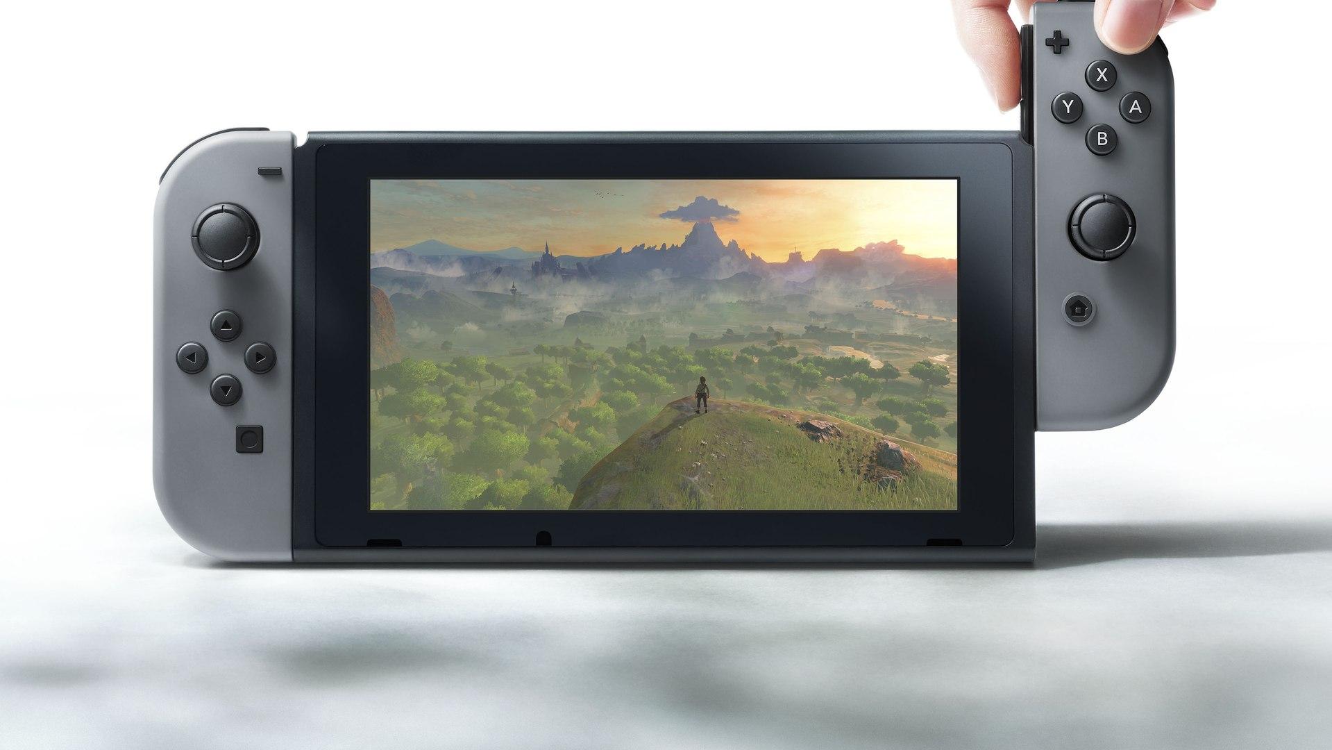 Présentation de la Nintendo Switch