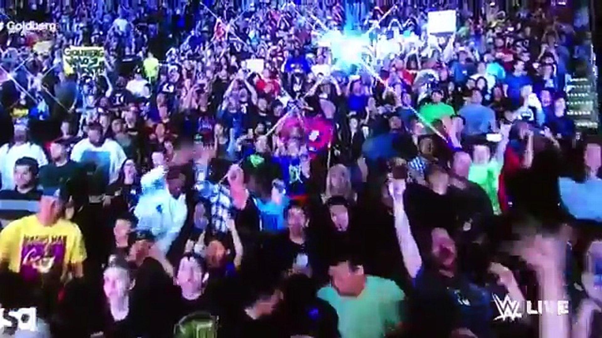WWE Goldberg Returns To WWE Raw/Regresa A WWE Raw 17/10/16