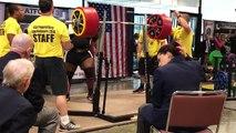 Squat à 456 kilos pour Ray Williams