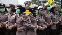 Öğrencilerden Hükümet Protestosu - Cakarta