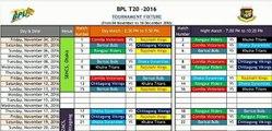 Bangladesh Premier League (BPL) T20 Cricket 2015 [ Video ] Live on