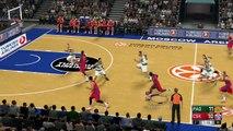 CSKA Moscu vs Panathinaikos Euroliga NBA 2K17 Gameplay HD Simulation