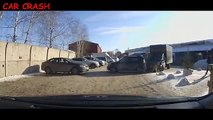 Car Crashes Compilation - Crazy Russian drivers - Crashes Compilation - 25.02.2016 #195