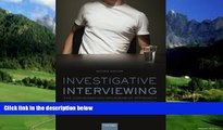 Books to Read  Investigative Interviewing: The Conversation Management Approach  Best Seller Books